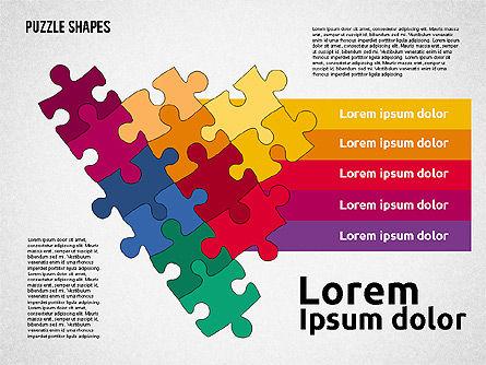 Puzzle Theme Presentation, Slide 3, 01980, Puzzle Diagrams — PoweredTemplate.com