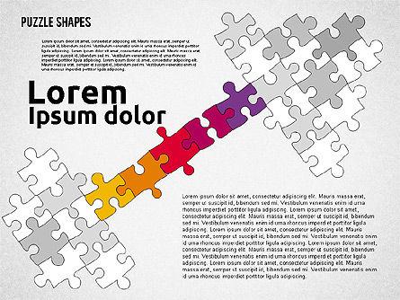 Puzzle Theme Presentation, Slide 5, 01980, Puzzle Diagrams — PoweredTemplate.com