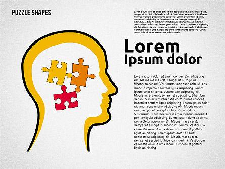 Puzzle Theme Presentation, Slide 6, 01980, Puzzle Diagrams — PoweredTemplate.com