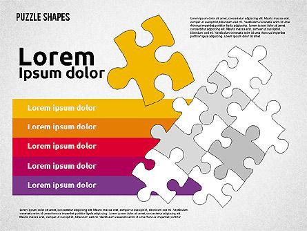 Puzzle Theme Presentation, Slide 7, 01980, Puzzle Diagrams — PoweredTemplate.com