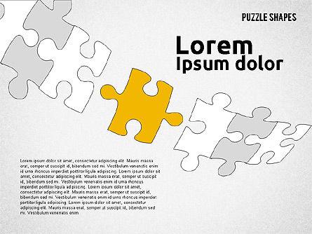 Puzzle Theme Presentation, Slide 8, 01980, Puzzle Diagrams — PoweredTemplate.com