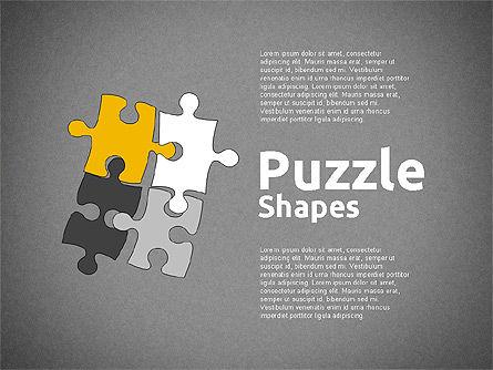 Puzzle Theme Presentation, Slide 9, 01980, Puzzle Diagrams — PoweredTemplate.com