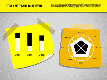 Sticky Notes with Diagrams (data driven) Slide 4