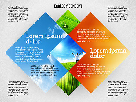 Ecology Presentation Concept, Slide 2, 01983, Business Models — PoweredTemplate.com