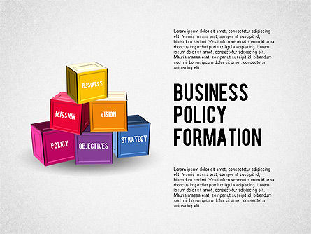 Business Policy Formation, 01984, Business Models — PoweredTemplate.com