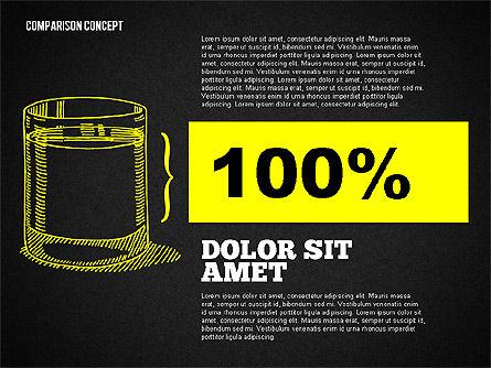 Half Full Glass Of Water, Slide 13, 01985, Business Models — PoweredTemplate.com