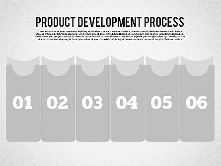 Product Development Process Diagram, 01986, Stage Diagrams — PoweredTemplate.com