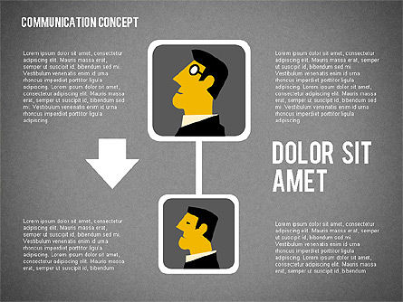 Business Processes Concept, Slide 11, 01987, Process Diagrams — PoweredTemplate.com
