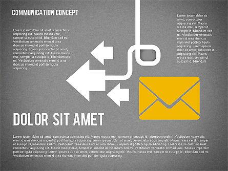 Business Processes Concept, Slide 12, 01987, Process Diagrams — PoweredTemplate.com