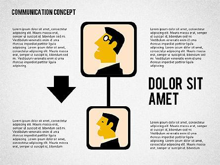 Business Processes Concept, Slide 3, 01987, Process Diagrams — PoweredTemplate.com