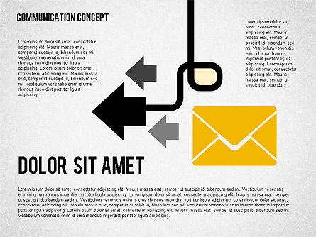 Business Processes Concept, Slide 4, 01987, Process Diagrams — PoweredTemplate.com