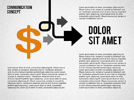 Business Processes Concept, Slide 7, 01987, Process Diagrams — PoweredTemplate.com