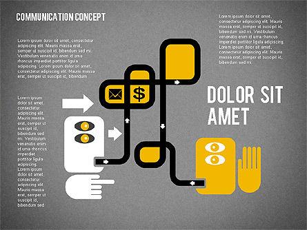 Business Processes Concept, Slide 9, 01987, Process Diagrams — PoweredTemplate.com