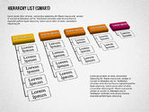 Organizational Charts: Hierarchy List (smart) #01988