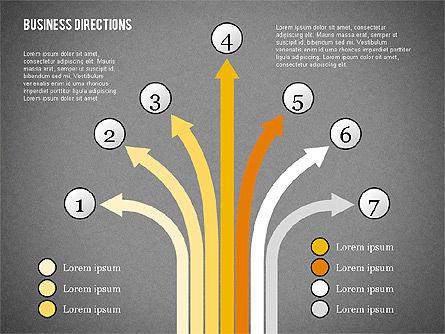 Arrows and Directions Diagram, Slide 12, 01992, Process Diagrams — PoweredTemplate.com