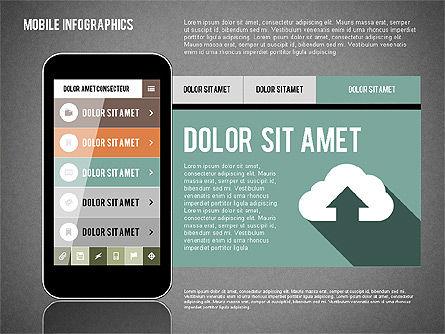 Smartphone Infographics, Slide 15, 01996, Presentation Templates — PoweredTemplate.com