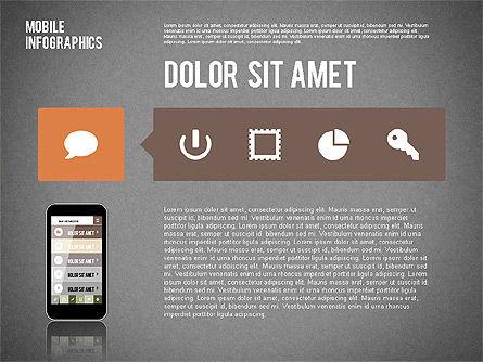 Smartphone Infographics, Slide 16, 01996, Presentation Templates — PoweredTemplate.com