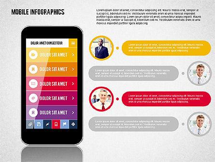 Smartphone Infographics, Slide 3, 01996, Presentation Templates — PoweredTemplate.com