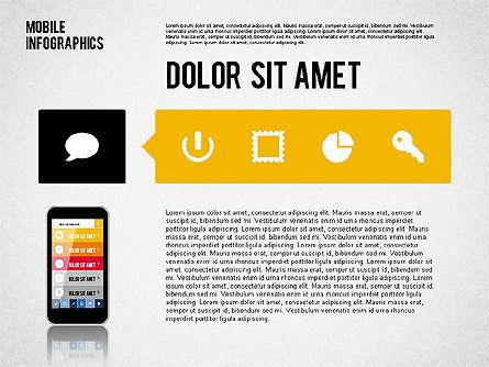 Smartphone Infographics, Slide 8, 01996, Presentation Templates — PoweredTemplate.com