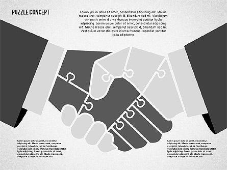Puzzle Diagrams: Puzzle Hand Concept #02002