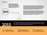 Timelines & Calendars: Chronologie en conception plate #02003