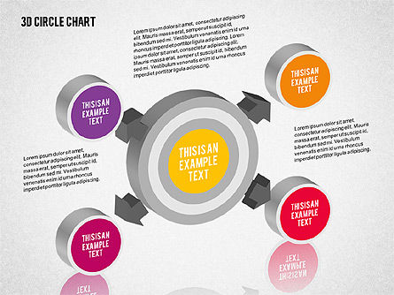 3D Circle Org Chart for PowerPoint Presentations, Download Now ...