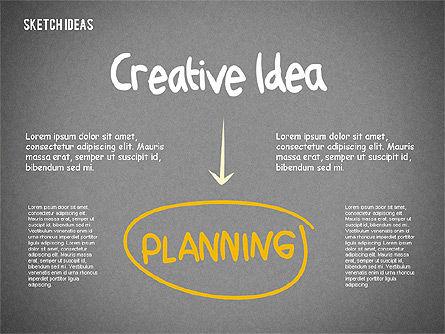 Creative Idea Sketch, Slide 11, 02007, Business Models — PoweredTemplate.com