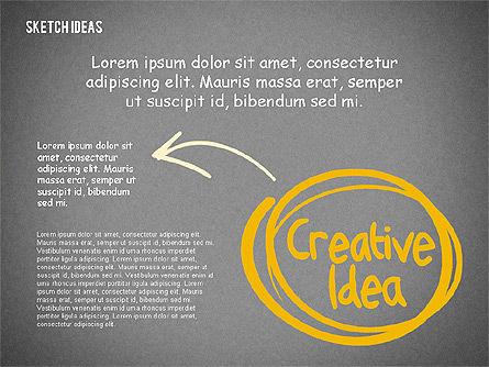 Creative Idea Sketch, Slide 12, 02007, Business Models — PoweredTemplate.com