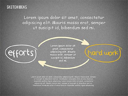 Creative Idea Sketch, Slide 15, 02007, Business Models — PoweredTemplate.com