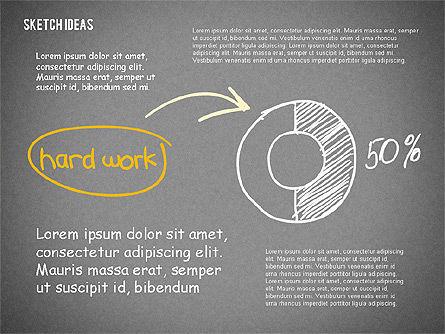 Creative Idea Sketch, Slide 16, 02007, Business Models — PoweredTemplate.com