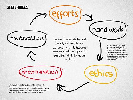Creative Idea Sketch, Slide 5, 02007, Business Models — PoweredTemplate.com
