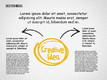 Creative Idea Sketch, Slide 6, 02007, Business Models — PoweredTemplate.com