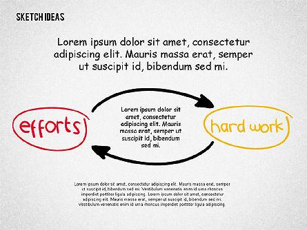 Creative Idea Sketch, Slide 7, 02007, Business Models — PoweredTemplate.com
