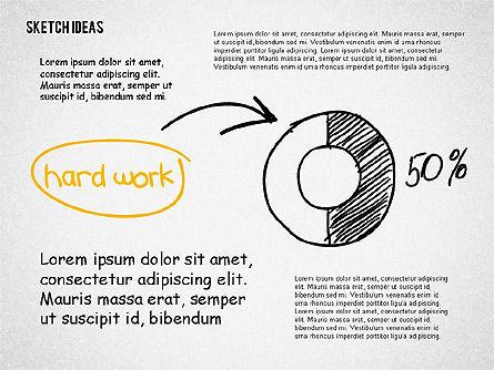 Creative Idea Sketch, Slide 8, 02007, Business Models — PoweredTemplate.com