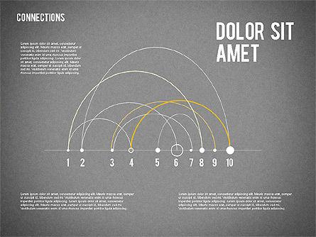 Timeline Map, Slide 12, 02013, Timelines & Calendars — PoweredTemplate.com