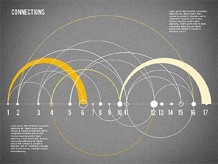Timeline Map, Slide 14, 02013, Timelines & Calendars — PoweredTemplate.com