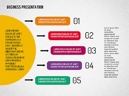 Stages Diagrams Set, Slide 4, 02016, Stage Diagrams — PoweredTemplate.com
