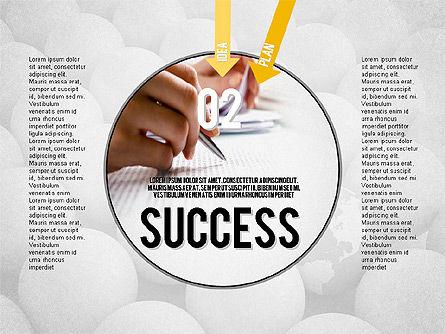 Steps to Success Concept Slide 2