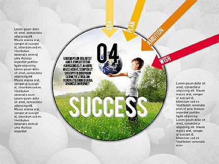 Steps to Success Concept Slide 4