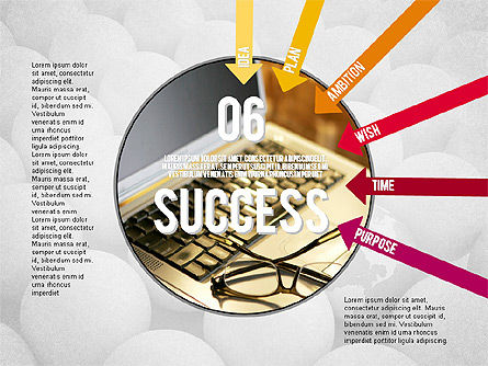 Steps to Success Concept, Slide 6, 02021, Stage Diagrams — PoweredTemplate.com