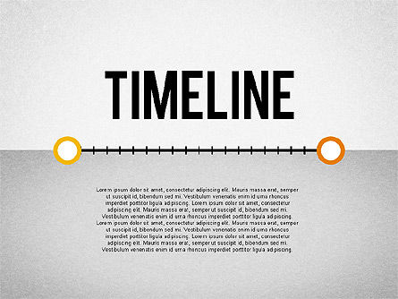 Timeline with Pins, 02028, Timelines & Calendars — PoweredTemplate.com