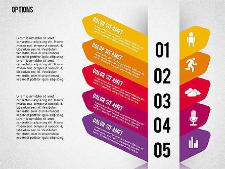Tilted Agenda Options, Slide 10, 02029, Stage Diagrams — PoweredTemplate.com