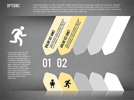 Tilted Agenda Options, Slide 12, 02029, Stage Diagrams — PoweredTemplate.com