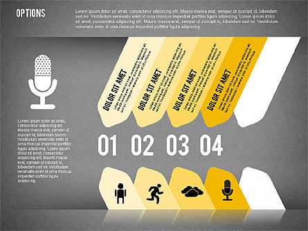 Tilted Agenda Options, Slide 14, 02029, Stage Diagrams — PoweredTemplate.com