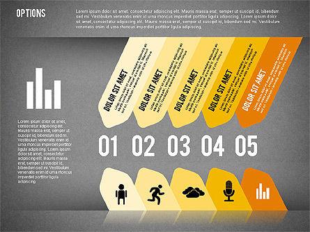Tilted Agenda Options, Slide 15, 02029, Stage Diagrams — PoweredTemplate.com