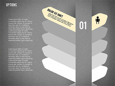 Tilted Agenda Options, Slide 16, 02029, Stage Diagrams — PoweredTemplate.com