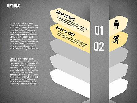 Tilted Agenda Options, Slide 17, 02029, Stage Diagrams — PoweredTemplate.com