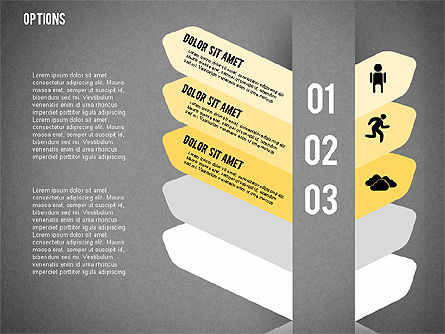 Tilted Agenda Options, Slide 18, 02029, Stage Diagrams — PoweredTemplate.com