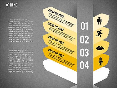 Tilted Agenda Options, Slide 19, 02029, Stage Diagrams — PoweredTemplate.com