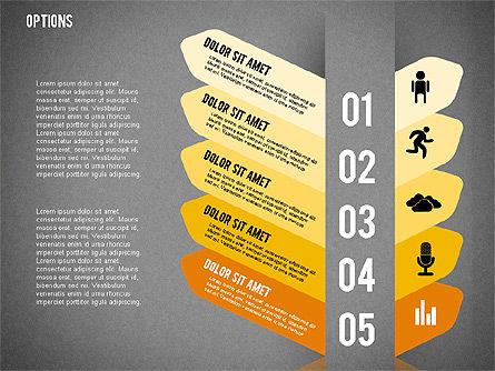 Tilted Agenda Options, Slide 20, 02029, Stage Diagrams — PoweredTemplate.com